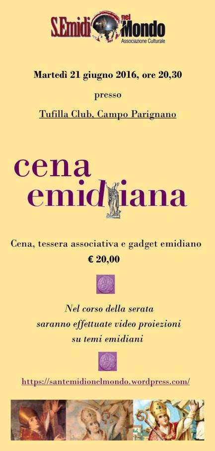 Cena Emidiana - Invito